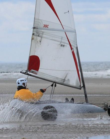 Initiation Char A Voile Baie De Somme Fort Mahon